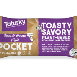 Tofurky Ham Cheese Pocket