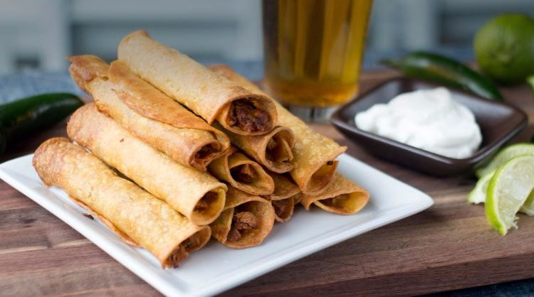 BBQ Chick'n Tailgate Taquitos