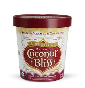 Coconut Bliss Salted Caramel Chocolate