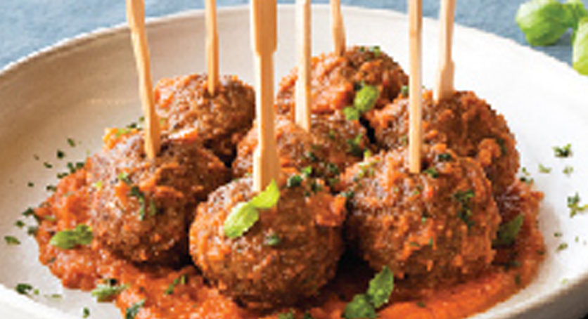 Meatless Goulash Meatballs